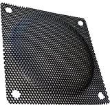 Aerzetix:2 Griglie di protezione per ventilatore del computer, 80 x 80 mm, c15148