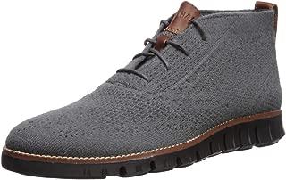Cole Haan Men's Zerogrand Stitchlite Chukka Boot, Magnet Wool/Black, 10.5 M US