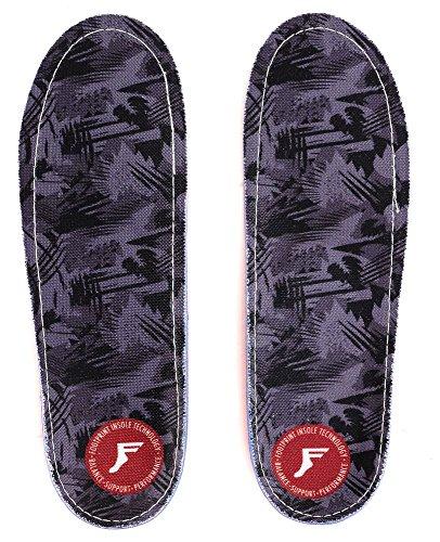 Footprint Gamechangers Low Profile camo grey Einlegesohle Größe US 11 - 11.5