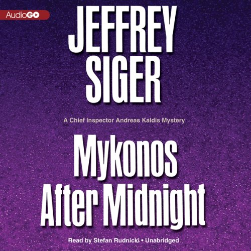 Mykonos after Midnight audiobook cover art