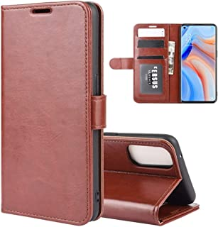 Phone case For OPPO Reno 4 Pro 5G R64 Texture Single Horizontal Flip Protective Case with Holder & Card Slots & Wallet& Ph...
