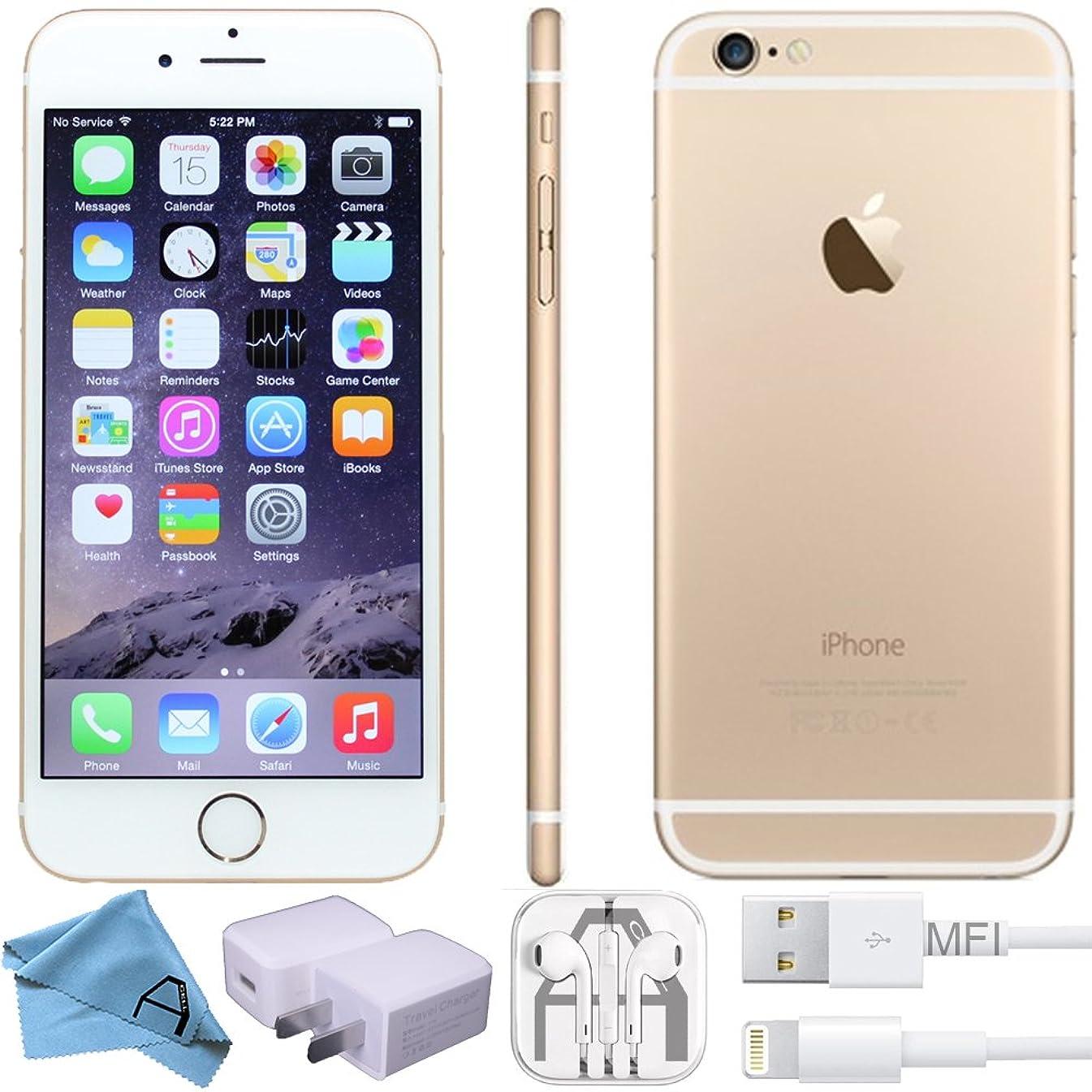 Apple iPhone 6, GSM Unlocked, 32GB - Gold (Renewed)