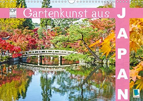 Gartenkunst aus Japan (Wandkalender 2021 DIN A3 quer)