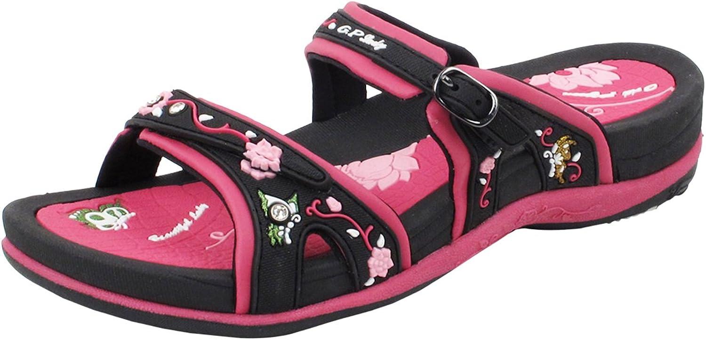 gold Pigeon shoes Signature Sandals for Women   Comfort Walking Ergonomic Slides & Flip Flops