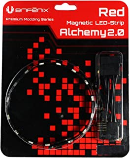 BITFENIX Alchemy 2.0 Interior 30 Bombilla(s) 60 cm - Cinta Luminosa (Interior, Poliuretano, PVC, Cobre, 30 Bombilla(s), Rojo, LED, 1,44 W)