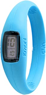 IOION E-QMR12-II Casual Watch For Unisex Digital Silicone - Turquoise