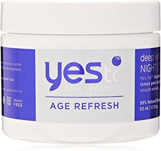 yes to blueberries age refresh deep wrinkle night cream