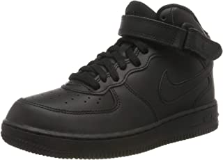 Nike Australia Boys Force 1 Mid (PS) Fashion Shoes, Black/Black