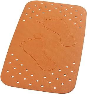 Ridder 'Plattfuß' Flatfoot 670740-350 - Alfombrilla para bañera (38 x 72 cm), Color Naranja