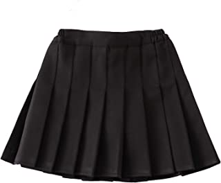 Little Big Girls' Kid Pleated Mini Short Skort School Dresses Tennis Scooters Skirts