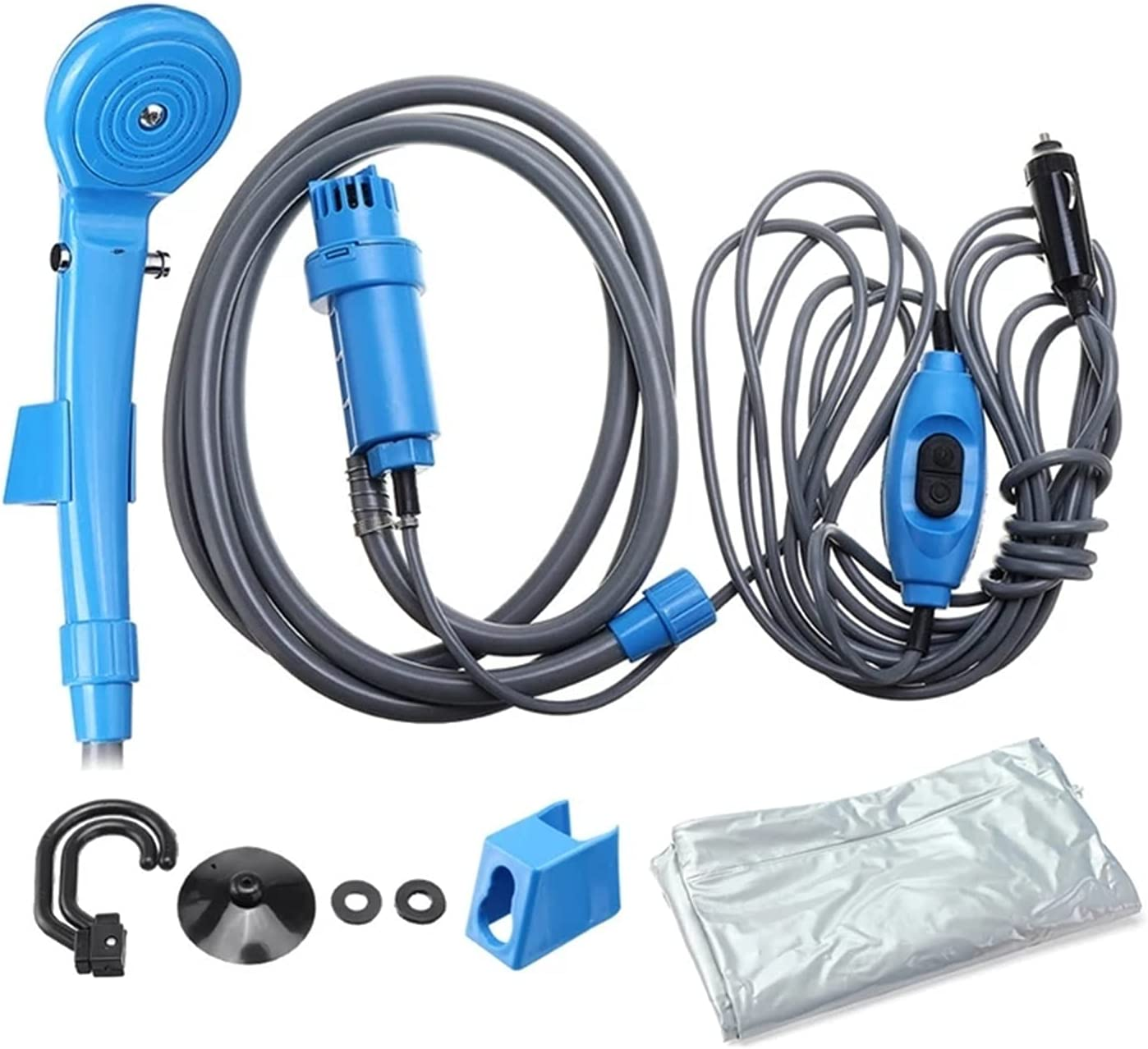 PQW 12V Car Cigarette Lighter Pump Mesa Mall Shower quality assurance Electric Head Portable