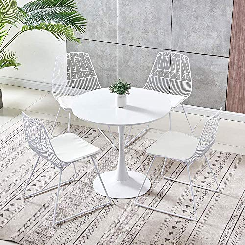 Sillas de alambre al aire libre sillas,4 chairs 1 table