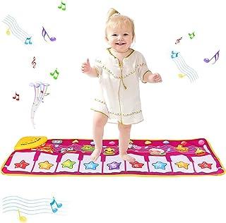 PROACC piano speelmat, kinder piano klavier muziek speelmat speelgoed, groot formaat (39 * 14 inch) Grappige dansmat voor ...
