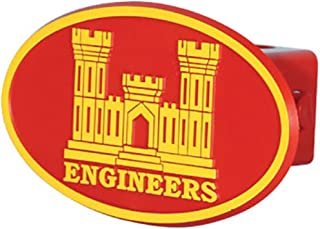 US Army Corps of Engineers Logo ABS Hitch Cover with Quick Loc