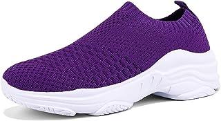 ZUSERIS Baskets Chaussures de Course pour Femme Chaussures de Running Sport Sneakers Fitness Tennis Légère Respirantes 36-42