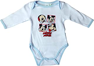 Baby Mickey Mouse Body Overall 12 m Kleid Schuhe Stirnband Gr