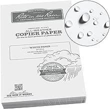 Rite in the Rain Weatherproof Copier Paper, 8 1/2