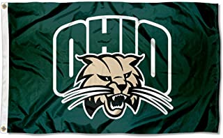 Ohio Bobcats University Large College Flag