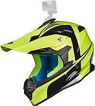 ILM Adult Motocross Dirt Bike Helmet with Super Soft Liner Camera Mount for Men Women ATV..