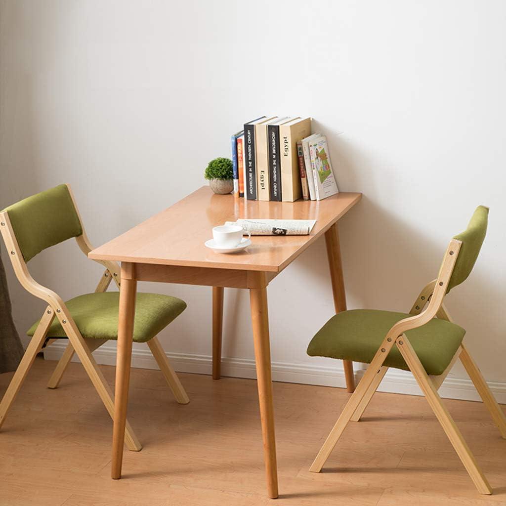 Home warehouse Chaises de réception, chaises de Coin, Cuisine Pliable, Chaise de Repos, Chaise de Repos, Tissu de Coussin Doux 41 * 46 * 78,5 cm,G J
