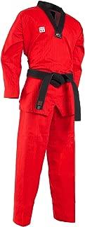 red taekwondo dobok