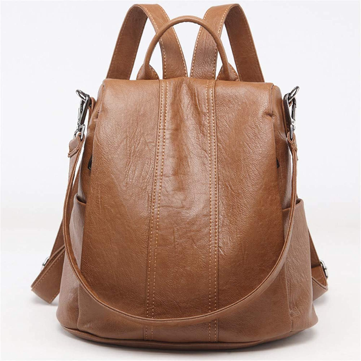 Women Fashion Backpacks Women Backpack WaterRepellent Bag Fashion School Backpack for Travel (color   Brown)