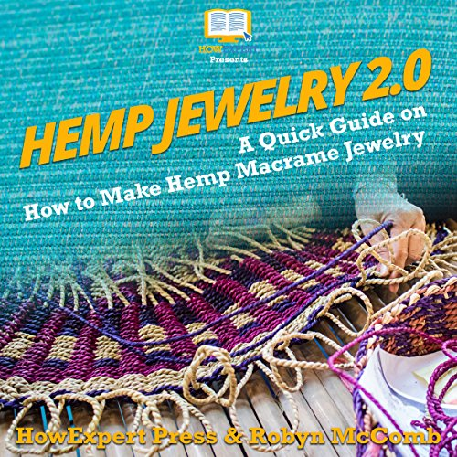 Hemp Jewelry 2.0 audiobook cover art