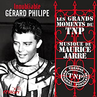 Couverture de L'Inoubliable Gérard Philipe
