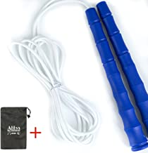 9.2-feet Adjustable Jump Rope with Carrying Pouch - Premium Quality for Children or Adult of All Heights and Skill Levels- The is Easier to Jump
