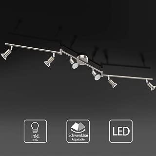 Uchrolls Foco LED para techo I 6 vías lamparas de techo led