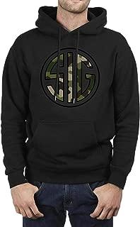 ZTUO SIG Sauer Black Camouflage Shopping on Line Mens Hoodies Cute Winter Hoody Sweatshirt
