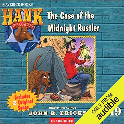 The Case of the Midnight Rustler cover art