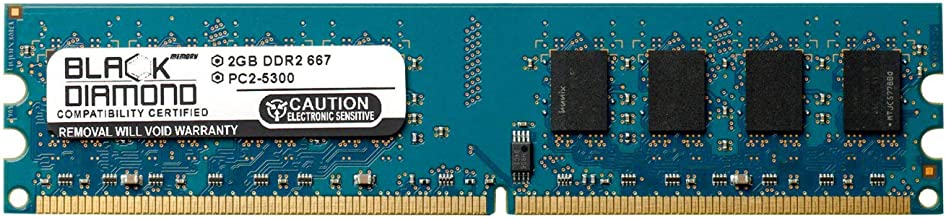 2GB RAM Memory for eMachines EL Series EL1200, EL1200-05w, EL1300G-02w, EL1200-06w, EL1333G-01W Black Diamond Memory Module DDR2 DIMM 240pin PC2-5300 667MHz Upgrade