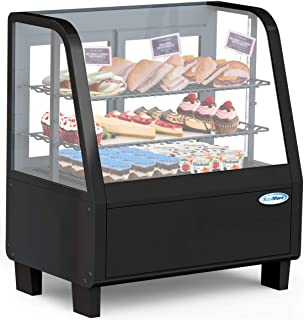 small countertop refrigerated display case