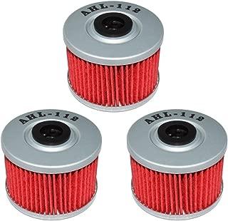 AHL 112 Oil Filter for Honda CRF250L CRF250 L 250 2013-2015 (Pack of 3)