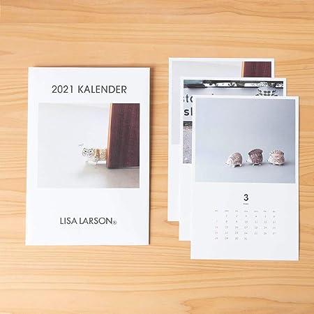 LISA LARSON 2021年 セラミックワークスカレンダー/ポストカード