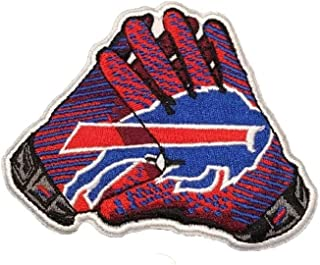 """Buffalo Bills Vintage Embroidered Iron on Patch Vintage Logo t-Shirt 3.5 """"x 3"""