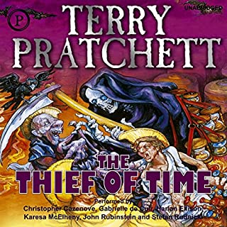 Thief of Time audiobook cover art