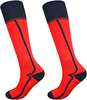Fitliva Soccer Socks for Teenagers and Adult (2/6/10 Pairs)