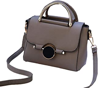 Women Bags Brand Female Handbag Crossbody Bags Fashion Mini Shoulder Bag for Teenager Girls with Sequined Lock Gifts,Gray,S