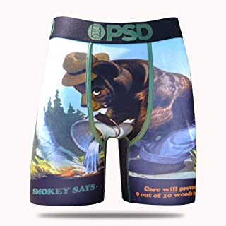 PSD Underwear NBA Mens Athletic Boxer Briefs