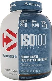 Dymatize ISO 100 Proteína Hydrolyzed 5 Lbs Chocolate.