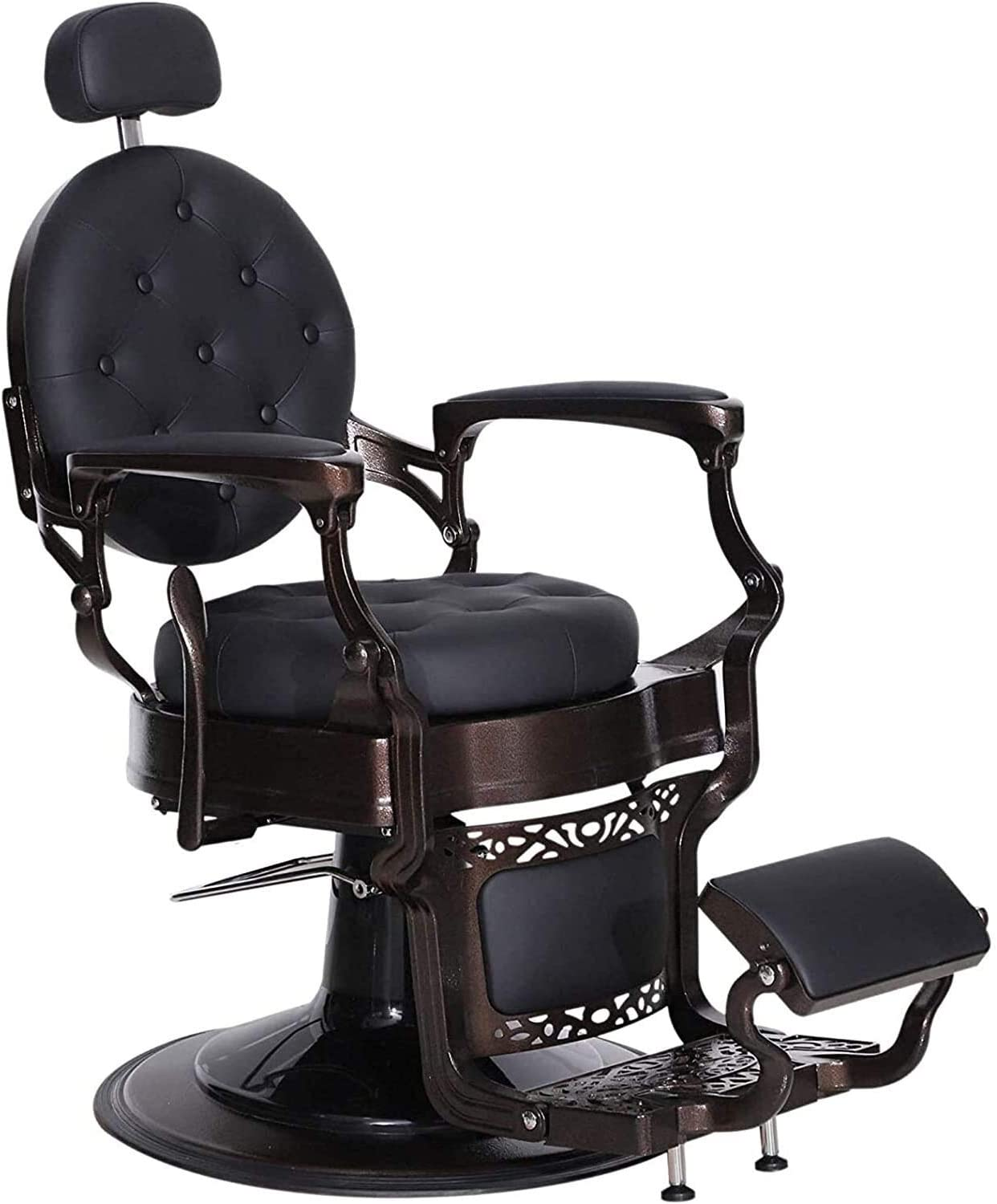 Vintage Salon Chair Max 49% OFF Hydraulic Cha Beauty Barber Equipment Import