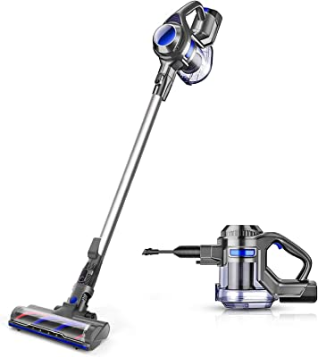 Cordless Vacuum 4 in 1 Powerful Suction Stick Handheld Vacuum Cleaner for Home Hard Floor Carpet Car Pet - XL-618A, Lightweight