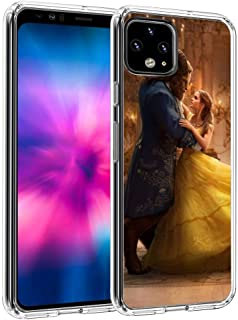 DISNEY COLLECTION Fit Google Pixel 4 XL (2019) 6.3inch Art Beauty and The Beast Dance Disney Fantasy Love Romance