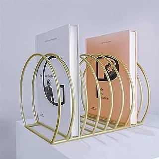 Estantería de escritorio de hierro de metal, suministros de oficina en casa, soporte de organización, estante de almacenam...