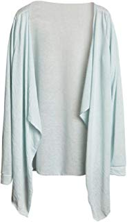 Womens Lightweight Open Cardigan Shrug Long Sleeve Modal Sheer Cover Up Sun Protection Clothing Tops