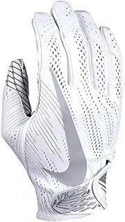 Nike Men's Vapor Knit Football Gloves White/Wolf Grey GF0571-101 Size XXL