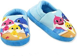 Baby Shark Toddler Kids Plush Aline Slippers