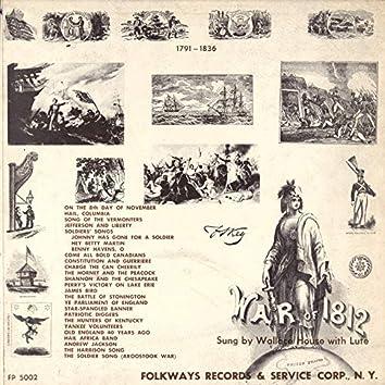 Ballads of the War of 1812, 1791-1836